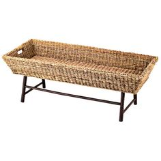 Barbados Coffee Table - Perfect for my office & living room. Love the wicker rope look & feel. Totally love this!!