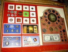 RARE Huge Bicentennial Collection Coins Lot Silver Proof Set Buffalo Dime Penny   eBay