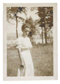 Georgia O'Keeffe at Lake George :: Photography