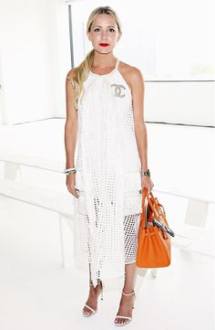 Blair Eadie of Atlantic-Pacific Your Front-Row Access To NYFW's Chicest Looks via @WhoWhatWear