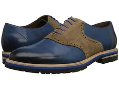 Messico Franco Navy/Beige Leather - Zappos.com Free Shipping BOTH Ways