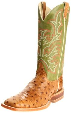 Justin Boots Men's Aqha Broad Square-toe Remuda Boot,Antique Saddle/Moss Green,10 EE US - http://authenticboots.com/justin-boots-mens-aqha-broad-square-toe-remuda-bootantique-saddlemoss-green10-ee-us/
