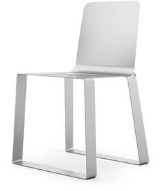 Sitting on a MAC - Apple's new aluminium chair by Omar de Biaggio