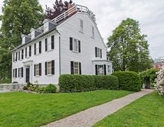 Visit The McIntire Historic District In Salem, MA | PEM Colonial Revival Architecture, Essex Street, Historic Homes, House Design, Tours, Mansions, House Styles, Places, Home Decor