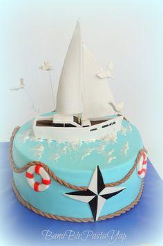 Sailing cake, Bana Bir Pasta Yap, BUTİK PASTA TASARIMI ANKARA