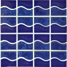 Waterline porcelain pool tiles are the ideal choice for builders and designers. Browse our selection of porcelain waterline pool tiles today. Modern Mosaic Tile, Mosaic Tiles, Pool Mosaics, Pool Tiles, Online Tile Store, Tiles Online, Waterline Pool Tile, Fireclay Tile, Blue Mosaic