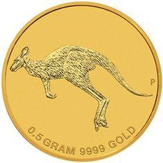 2 $ Dollar - Kangaroo - Mini Roo - 1/62 Oz. Gold Coin uncirculated - in Blistercard. AUSTRALIEN 2015  2 $ Dollar - Känguru - Mini Roo - 1/62 Oz. Gold in stempelglanz - in Blisterkarte.