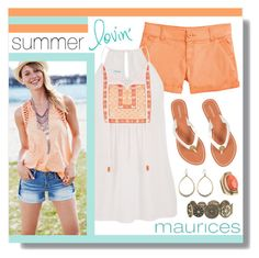 """Summer Lovin' with maurices"" by lgb321 ❤ liked on Polyvore featuring maurices"