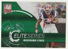 2010 Donruss Elite (Panini) Marshawn Lynch Football Card 24/99 RARE