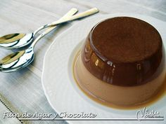Flan Dukan de Chocolate y Agar Agar