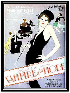 Vintage Film Advert for Vampire a la Mode 1928