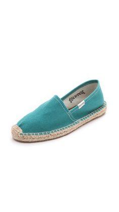Soludos Dali Flat Espadrilles...if i were to wear espadrilles...