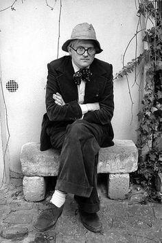 David Hockney, English painter, draughtsman, printmaker, stage designer and photographer