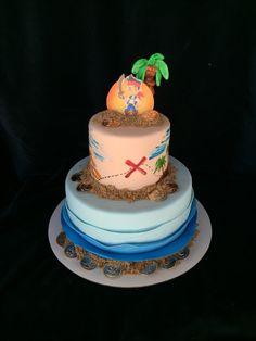 Jake and the neverland cake
