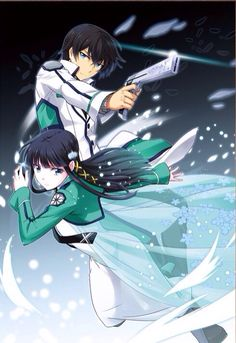 mahouka koukou no rettousei ---- Where Magic exists, two siblings attend a magic highschool. While the younger sister has unspeakable talent, the older brother shows no talent capable to match hers, however, when push comes to shove, he will do anything to protect her.