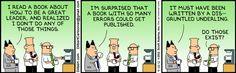 Leadership book has so many errors.