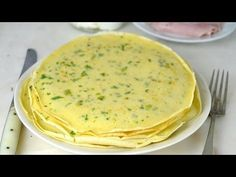 How to make salty crepes to fill recipe - Algo para comer? Diabetic Recipes, Healthy Recipes, Holiday Recipes, Dinner Recipes, Chilean Recipes, Mom Cake, Good Food, Yummy Food, Yummy Yummy