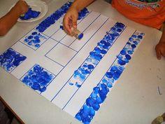 παιχνιδοκαμώματα στου νηπ/γειου τα δρώμενα: η σημαία μας και.....μαθηματικά !!! Preschool Classroom, Preschool Crafts, Kindergarten, Diy Crafts, 28th October, Outdoor Blanket, Nursery, Education, Romania