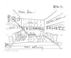 ANIMA: the schematic design. The main room.  www.animailprogetto.com www.facebook.com/ANIMATHEPROJECT