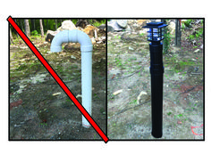 Septic Vent Pipe Cover
