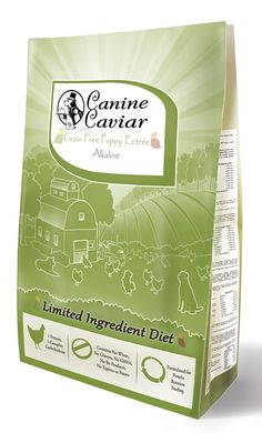 Canine Caviar Pet Foods Inc. Grain Free Puppy Alkaline Entrée * See this great product. (This is an Amazon affiliate link)
