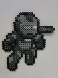 Iron Man - War Machine Bit Heroes, Perler, Pixel, Jeggings Will, Iron ...