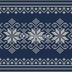 Knitting Pattern images, stock photos & vectors Winter Holiday sweater design on the wool knitted texture. Seamless pattern Always aspired to figure out how to knit, bu. Designer Knitting Patterns, Knitting Designs, Beginner Knitting Projects, Knitting For Beginners, Knitting Charts, Knitting Stitches, Knitting Sweaters, Pattern Images, Pattern Design