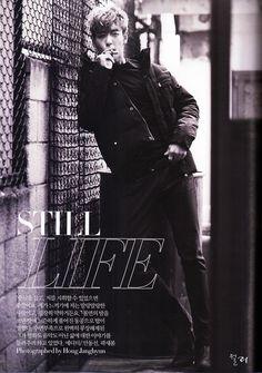 T.O.P in Harper's Bazaar Korea (December 2011)