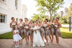 chic bridesmaids at this classy wedding - photo by Radient Photography | CHECK OUT MORE IDEAS AT WEDDINGPINS.NET | #weddings #bridesmaids #bridal #dresses #fashion #forweddings