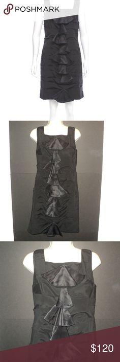 3bfdc9540c82e Alice + Olivia Sz 10 Dress Black Pleated