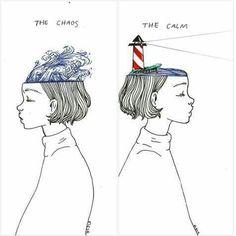 art, chaos, and calm image