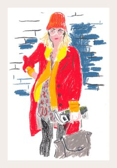 Snap Sketch | Coco Rocha, Colin Self and the Faces of New York Fashion Week