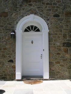 Circle-Head Door Transom and Trim