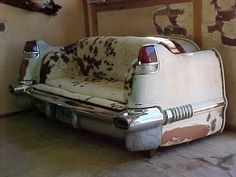 1956 Cadillac couch