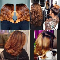 Hair color I like Love Hair, Gorgeous Hair, My Hairstyle, Cool Hairstyles, Curly Hair Styles, Natural Hair Styles, Cool Hair Color, Hair Colors, Relaxed Hair