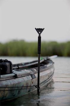 PARK-N-Pole by YakAttack Review Kayak Fishing Blog Kayak Fishing Blog #fishingkayak #duckboataccessories Kayak Fishing Gear, Kayak Fishing Accessories, Fishing Boots, Kayaking Gear, Kayak Camping, Canoe And Kayak, Gone Fishing, Fishing Lures, Fishing Stuff