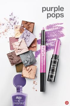 Let us count the ways: It's an unexpected color… Beauty Trends, Beauty Tips, Beauty Hacks, Best Makeup Products, Beauty Products, Amazing Makeup, Purple Hues, Color Of The Year, All Things Beauty