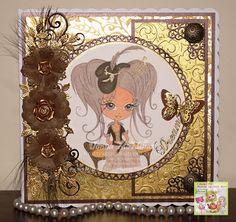 Kraftyscot - Handmade Crafts: The Little World of Griselda Collection New Release by Julia Spiri