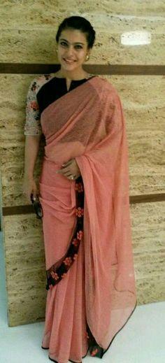 Kajol in pink saree..........