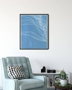 Under the Sea Agave Designs ( Botanical Art, Under The Sea, Line Drawing, Modern Art, Retail, Photo And Video, Wall Art, Videos, Creative