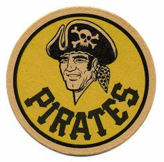 Pittsburgh Pirates Beer Coaster.