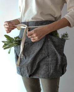 Ambatalia Forager Apron at Kettle and Brine.