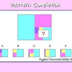 Can your child solve this pattern completion practice question from the #nnat?