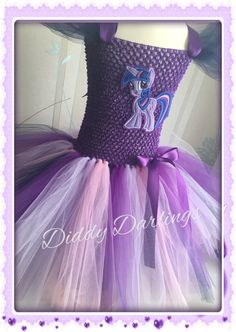 Twilight Sparkle vestido tutú. Inspiración por DiddyDarlings
