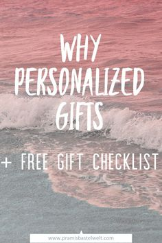 Around 50% of the Recipients don't like the gift they received. Are you looking for a gift everybody will love? | Read more! | #personalizedpresents #personalization #giftideas |