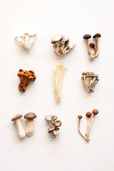Japanese recipe: marinated mushrooms