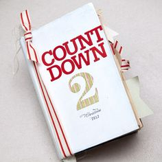Countdown 2 Christmas Art Journal by Ashley Cannon Newell for Papertrey Ink (October 2012)