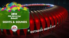 EA SPORTS 2014 FIFA World Cup Gameplay Series - Sights and Sounds (+play...