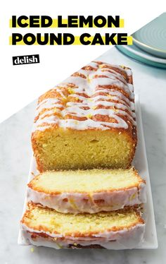 When Life Gives You Lemons, Make Pound CakeDelish