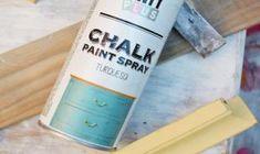 Turquesa. Chalk paint en spray